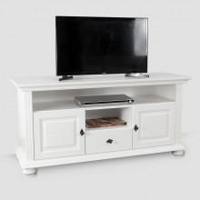 Comoda TV lemn masiv Mona mare, 137×65×45 cm