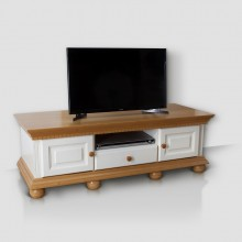 Comoda TV Romantica 3, lemn masiv