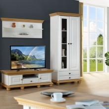 Set mobila living Romantica 6, lemn masiv,  clasic