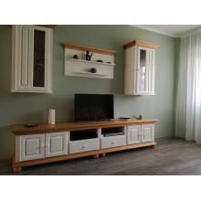 Set mobila living Romantica 22, lemn masiv,  clasic