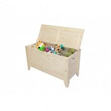 Lada depozitare, cutie jucarii Toy 90, lemn natur