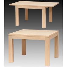 Masa extensibila Stefania, lemn masiv fag, 180/130x100x76 cm