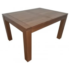 Masa extensibila Stefania, lemn masiv stejar, 180/130x100x76 cm