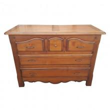 Comoda Grau de Aur, 5 sertare, lemn masiv de cires