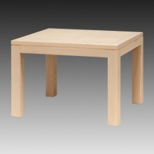 Masa fixa Stefania, lemn masiv fag, 110x100x76 cm