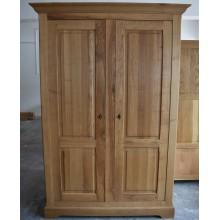 Dulap cu 2 usi Transilvania, lemn masiv stejar, 152x66x210 cm