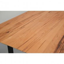 Masa living, lemn masiv fag salbatic  - cant elvetian, 200x100