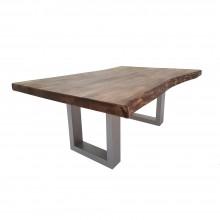 Masuta cafea, lemn masiv stejar, antique, 115x70x45