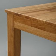 Masa bucatarie, lemn masiv stejar, 110x70x75