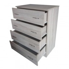 Comoda 4 sertare, Sonoma, Ramely, 80x50x105 cm