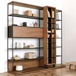 Biblioteci cu un design deosebit pentru carti si obiecte decorative