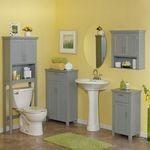 Mobilier pentru baie: dulapioare, oglinzi, mobilier lavoar
