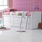 Patuturi bebelusi, paturi copii multifunctionale cu sertare, birou